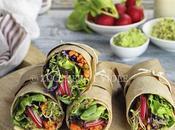 Wrap vitaminici salsa avocado