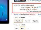 Super offerta Amazon: Huawei MediaPad Wifi disponibile oggi euro venduto spedito Amazon