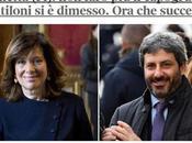 Camere: #Casellati (FI) Senato #Fico (M5S) Montecitorio, Gentiloni dimesso