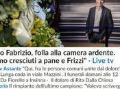L'Italia commossa rende omaggio Fabrizio Frizzi