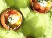 Colazione Pasqua alternativa: ovetti salmone maionese
