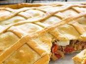 Menu Argentino Pasqua: Empanada pescado, torta rustica.