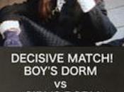 Decisive Match! Girls Dorm Against Boys
