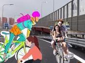 siamo traffico, l'inno alla bicicletta città Têtes Bois