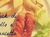 Stick pollo pancetta