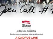 Bando audizione Chorus Line Stage Entertainment. Info aggiornate