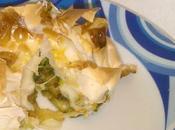 Fagottini pasta fillo zucchine provola