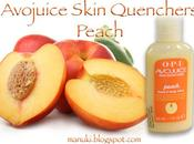 Review Avojuice Skin Quenchers Peach