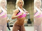Britney Spears tonica atletica