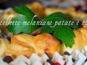 Tartellette melanzane patate caprino