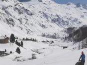 Passeggiata neve passeggino