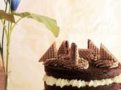 Torta Strati Cioccolati Wafer Alla Cioccolata Nocciola