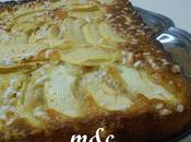 Torta Mele Cocco granella zucchero