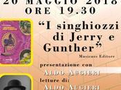 """Domenica maggio 2018 Neviano (Le) Aldo Augieri singhiozzi Jerry Gunther"""" presso Circolo Arci """"New Yano Movement"""", presentazione reading"""