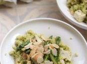 Couscous pesto asparagi tofu alle erbe