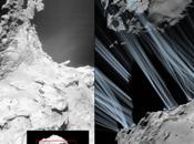 Rosetta svela l'alba getti