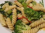 Pasta fusilli broccolo peperoncino
