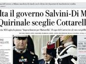 #Crisi drammatica: #Conte rinuncia, #Mattarella chiama #Cottarelli, Maio- #Salvini