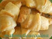 Cornetti alla Marmellata Nutella pasta sfoglia pronta, bontà dell'ultimo minuto