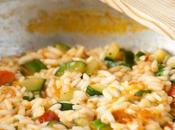 Risotto Zucchine Pomodoro Pizzutello alla Birra