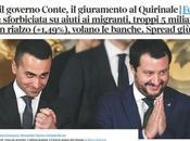 nato governo Conte, Maio Salvini vicepremier
