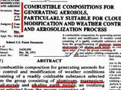 brevetto C.N.R. conferma aerei commerciali manipolano clima tramite carburanti