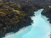 Islanda muschio verdissimo, acqua azzurrissima, cielo grigissimo