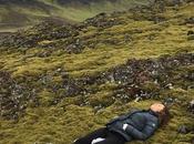 Islanda muschio, campi lava prime volte