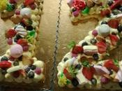 Cream tart cake Giulia