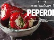 Come cucinare peperoni