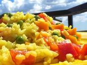 Paella vegetariana olè!