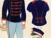 Figurino della divisa banda musicale Cesario Lecce, 1876. Archivio Stato Prefettura