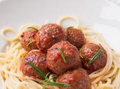 Spaghetti polpette vegetariane