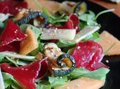 Carpaccio Bresaola Rucola, Zucchine Melone