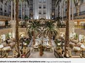scatto Landmark Hotel Daily Mirror Londra