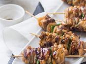 ricetta degli yakitori, spiedini pollo giapponesi