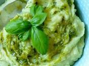 Ingredienti consigli preparare Crema Patate Pesto un'idea alternativa purè.