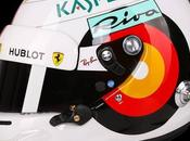 "Arai GP-6 S.Vettel ""Fokus"" Hockenheim 2018 Christoph Niemann painted Jens Munser Designs"