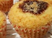 Muffin cocco cuore fragola