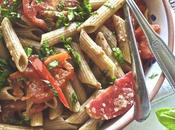 Pasta fredda aglio, olio pomodori
