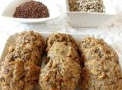 Biscotti rustici fiocchi d'avena semi lino