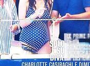 Charlotte Casiraghi, pancione agli sgoccioli Pantelleria attesa