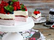 Torta gelato allo yogurt