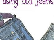 lilla's tutorials: tasconi vecchi jeans borsettine veloci comode Upcycling pockets make mini bags