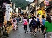 L'aumento turismo Kyoto