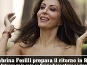 Sabrina Ferilli, attualmente Capitanessa, registrerà breve fiction. autunno Canale Anna cinque