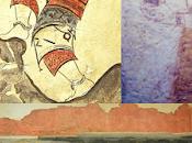 Archeologia, materie prime dell'antichità. zafferano, spezia costosa mondo, utilizzata dall'antichità rituali guarigione serie proprietà resero ambito elemento scambio apprezzato dalle classi pi...