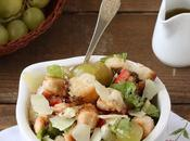Insalata pollo, pecorino bianca senza glutine