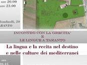 beni culturali taranto parco archeologico collepasso scena grecità sabato settembre