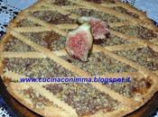 Crostata marmellata fichi cannella granella nocciole